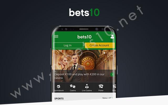 Bets10 Yeni Mobil Arayüz